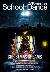 Christmas Dreams Production 2013 poster