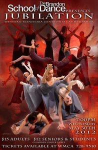 Jubilation Production 2012 poster